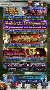 ffrk newcomers dungeons